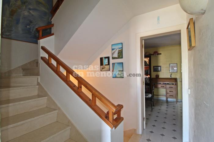 Townhouse with garage and pool in Santa Ana, Es Castell  - Ref. 2763