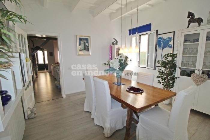 Renovated house with patio and garage in Mahón - Ref. 3120