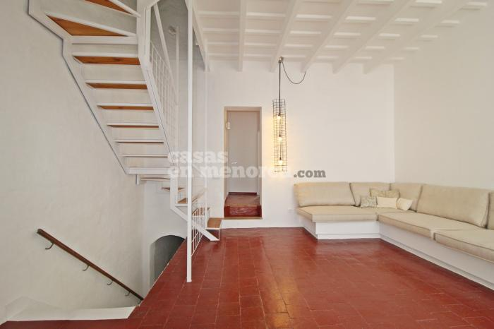 Minorcan townhouse with a lot of personality in Mahón - Ref. 3230